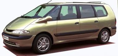 Коврики EVA Renault Espace III 1997-2003
