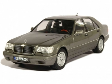 Коврики из экокожи 3D  Mercedes S-класс W140 1991 - 1998