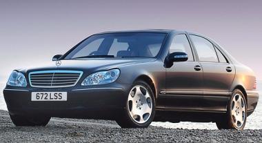 Коврики из экокожи 3D  Mercedes S-класс W220 1998 - 2005