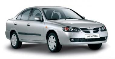 Коврики EVA Nissan Almera (N16) 2000 - 2006 (седан)