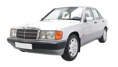 Коврики из экокожи 3D  Mercedes 190 W201 1982-1993