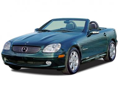 Коврики из экокожи 3D  Mercedes SLK-Класс I (R170) 1996 -2004