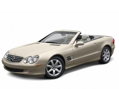 Коврики из экокожи 3D  Mercedes SL-klasse V (R230) 2001-2011